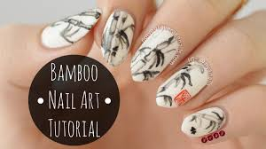 fixin to faff bamboo nail art the adorned claw japanese nail art