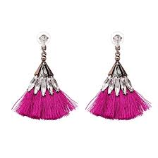 best earrings monaco glam tassel earrings best seller 12 colors now the