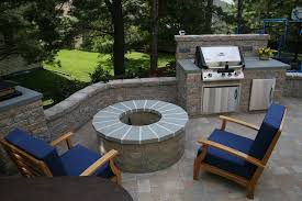 sit around grill table outdoor mini kitchen with grill and fire pit love this but i would
