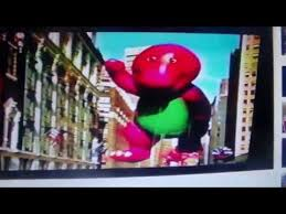 barney in the 2001 macy s thanksgiving day parade