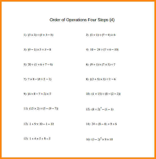 Order Of Operations Worksheet Answers 2 Order Of Operations Answers Media Resumed