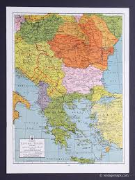 Map Central Europe by Europe And Subregions Vintage Maps