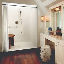 Shower Water Dam Stopper Kits Tips For Picking A Prefab Accessible Shower Homeability Com