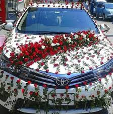 car decorations new fresh flowers stage car decorations home
