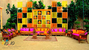 mehndi decoration mehendi decorators in delhi by 10on10decorations