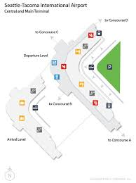 seattle airport terminal map 10 best airport images on airports landing and travel
