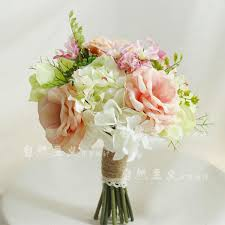 wedding flowers for bridesmaids european countryside fresh style bridal bouquets high quality