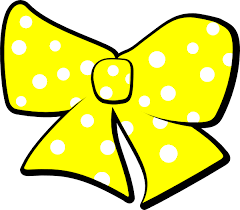 bow with polka dots clip art at clker com vector clip art online