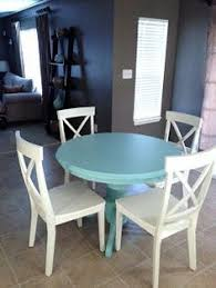Painted Kitchen Table And Chairs by Meet My New Kitchen Table And Command Max Hvlp Sprayer Review