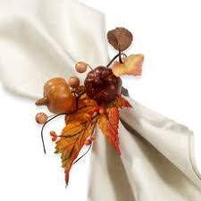 how to make harvest napkin rings for fall entertaining berry