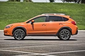 subaru orange 2013 subaru xv crosstrek 2 0i limited first test truck trend