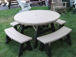 Poly Picnic Tables by Outdoor Furniture Classic Outdoor Furniture Heavy Duty Outdoor