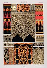so many great patterns and designs 1875 chromolithograph indian