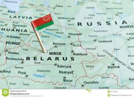 map of belarus belarus map flag pin stock image image of borders closeup 48773493