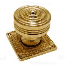 Brass Door Knobs Classic Bronze Beehive Doorknobs Snobsknobs