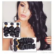 Original Hair Extensions by Cheap Malaysia Original Human Hair Bundles 100g Pcs Unprocessed
