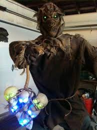 Homemade Scarecrow Decoration 79 Best Scarecrows Images On Pinterest Halloween Scarecrow