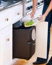 composteur cuisine les bacs de stockage de compost en intérieur tout sur le compost