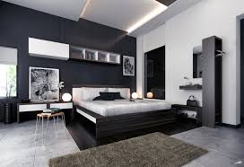 White Color Bedroom Ideas With Black Furniture Home Improvement - Bedroom ideas black furniture