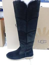 womens boots australia size 11 ugg australia womens black paxton rubber and waterproof suede