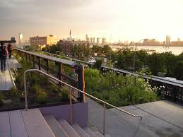 High Line New York Map by Sunset U0026 The Supermoon At The High Line New2nytours Com