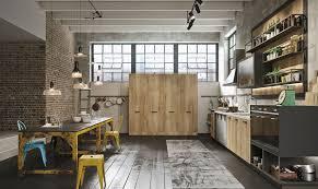 loft 10 pavia cuisine industrielle ouverte avec loft snaidero
