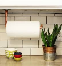 cabinet under cabinet kitchen roll holder diy under cabinet