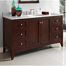bathroom grey wood fairmont vanities with single drawer for