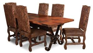 Copper Dining Room Tables Copper Diningtable Set Copper Dining Table Copper Rectangular Table