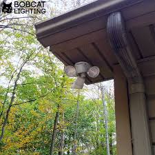 bobcat led flood lights 180 deg motion activated outdoor security