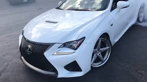 lexus rcf vossen i didn u0027t die jp performance drifting around me in the vossen