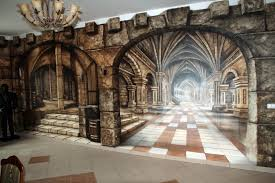 Amazing Wall Murals 28 Medieval Wall Murals Tv Backdrop Of Large Mural