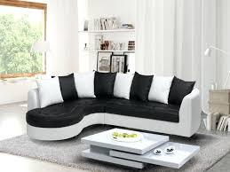 canape angle noir et blanc canape noir et blanc design coussin noir et blanc design