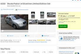lexus hatchback autotrader celebs u0027 go crazy for 550 skoda fabia on auto trader