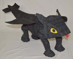 toothless dragon pinata