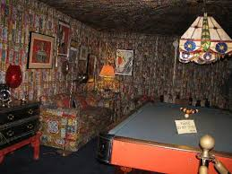 one of the rooms decorated in very elaborate 1960 u0027s decor