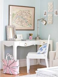 Decoration Ideas For Office Desk Fancy U0026 Fabulous Feminine Office Design Ideas