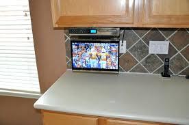 kitchen televisions under cabinet kitchen tv under cabinet full image for kitchen under cabinet hg