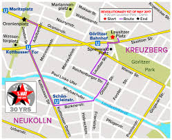 Air Berlin Route Map by Practical Informations Revolutionary 1st Of May Demonstration
