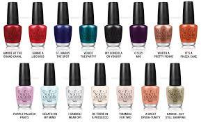 review colors shades opi venice nail polish collection fall