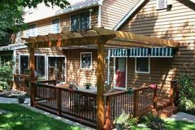 Attaching Pergola To House by Attached Pergola Landscaping And Outdoor Building Inspiration