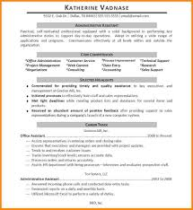 Examples Of Administrative Assistant Resumes Administrative Office Assistant Resume Best Free Resume Collection