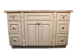 54 all wood construction custom bath vanity maple ivory white 54