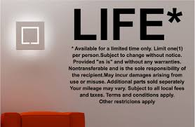 life terms wall art quote sticker vinyl bedroom lounge kitchen ebay