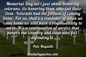 memorial day quotes the daily quotes