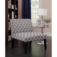 Gray And White Accent Chair Emily Accent Chair Greywhite Pattern Gallery And Gray White Chairs