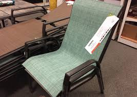 Stack Sling Patio Chair Sonoma 4 Piece Sling Patio Chair Sets 105 29 Shipped At Kohl U0027s