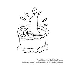 birthday cake coloring image inspiration cake