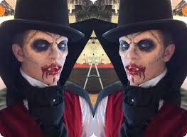 men halloween makeup stunning vampire tutorial makeup hair u0026 costume halloween
