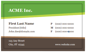 business card template word best business template u0027s